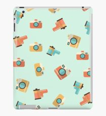 cameras and film pattern iPad Case/Skin