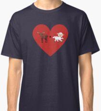 Moose and Lamb Muslim Love  Classic T-Shirt