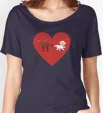 Moose and Lamb Muslim Love  Women's Relaxed Fit T-Shirt