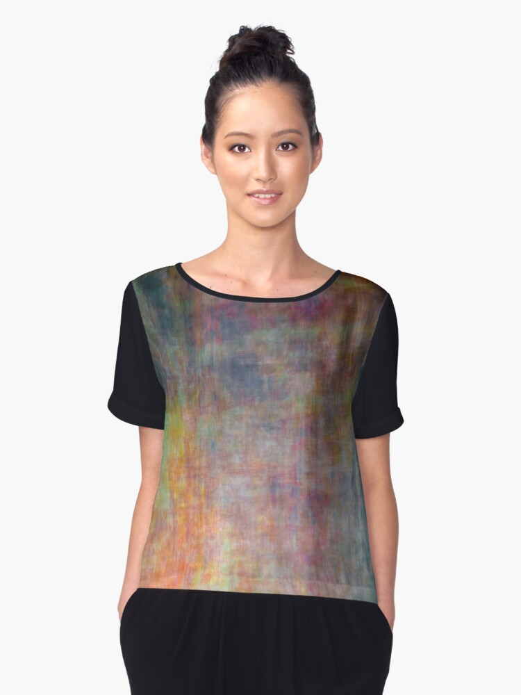 The EX 0001 Women's Chiffon Top Front