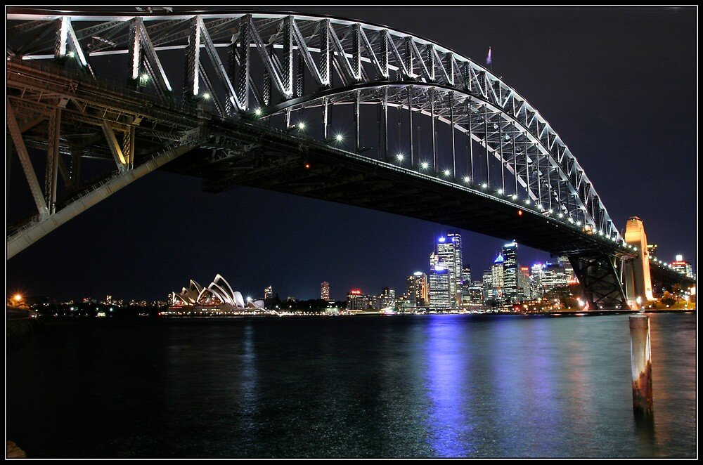 Sydney Harbour Bridge. by RailDen