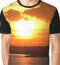Amelia Sunset Graphic T-Shirt