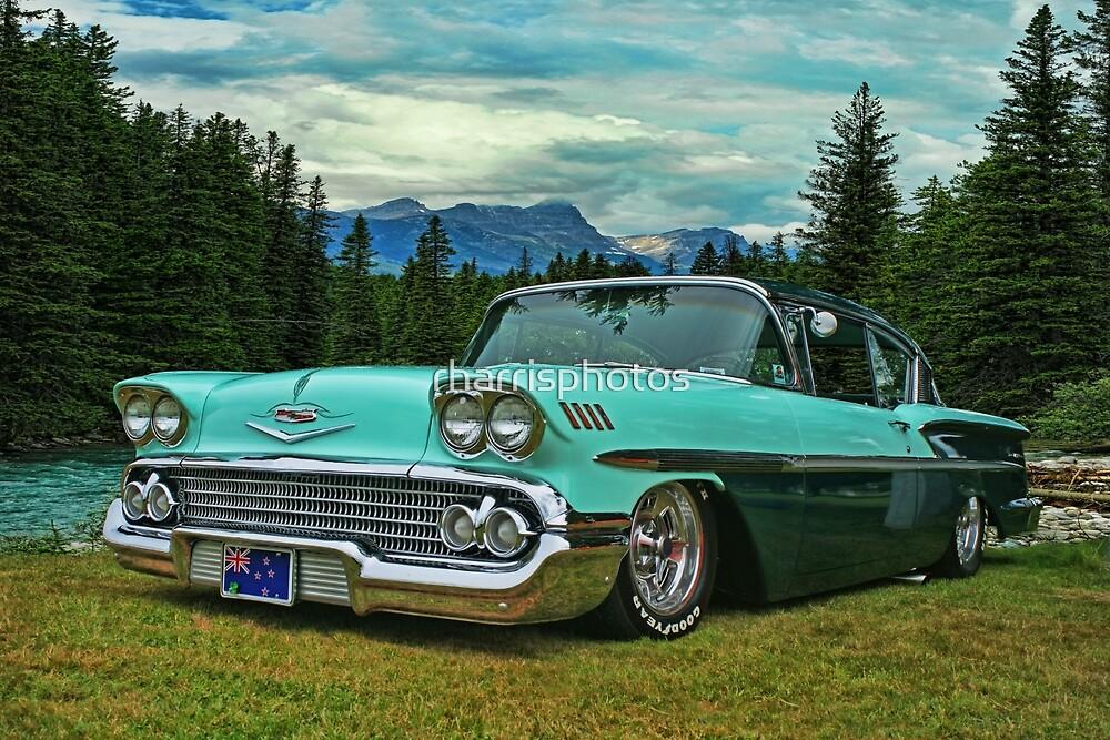 Classic Chevrolet in Banff by rharrisphotos