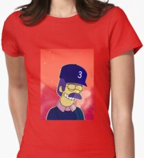 the rapper Womens Fitted T-Shirt