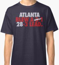 Atlanta Blew A (3-1) 28-3 Lead. (Silver/Red) Classic T-Shirt