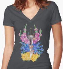 Walk Tall Women's Fitted V-Neck T-Shirt