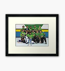 Lilydale Rats 14 and Under, Grand Final, Dec 2006 Framed Print