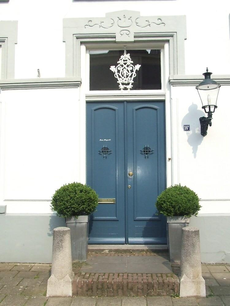 Blue Door by Samara  Lee