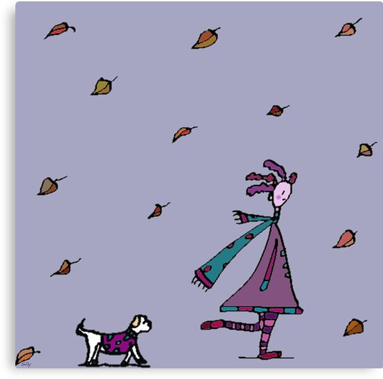 Autumn Had Found Silly. Silly Had Found Other Things... by Monica Ellis