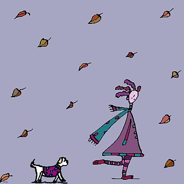 Autumn Had Found Silly. Silly Had Found Other Things... by monica