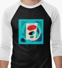 Atomic Traffic Light Men's Baseball ¾ T-Shirt