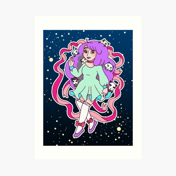 Space Case Art Print