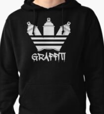 Graffiti Spray Cans Pullover Hoodie