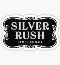 Silver Rush (Filled Version) Sticker