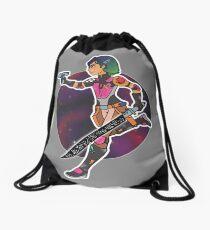 Intergalactic Grafitti Drawstring Bag