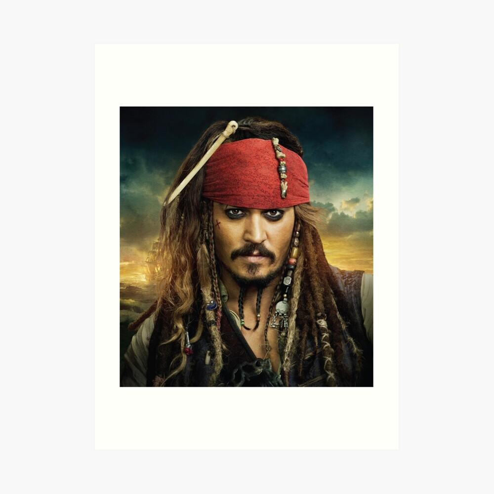 Jack Sparrow Kunstdruck