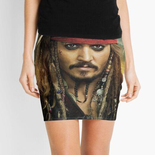 Jack Sparrow Mini Skirt