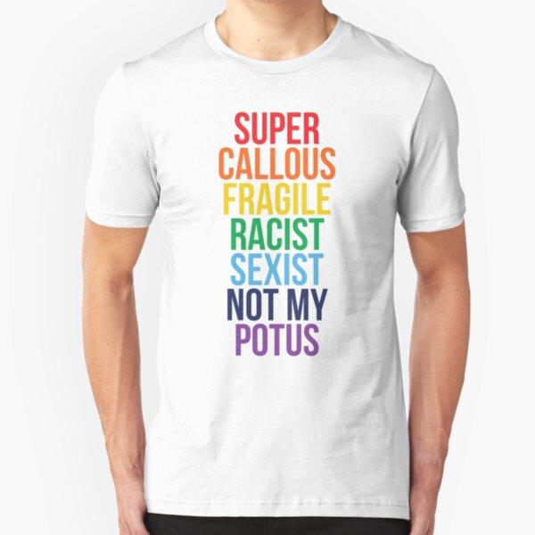 Not My Potus Slim Fit T-Shirt