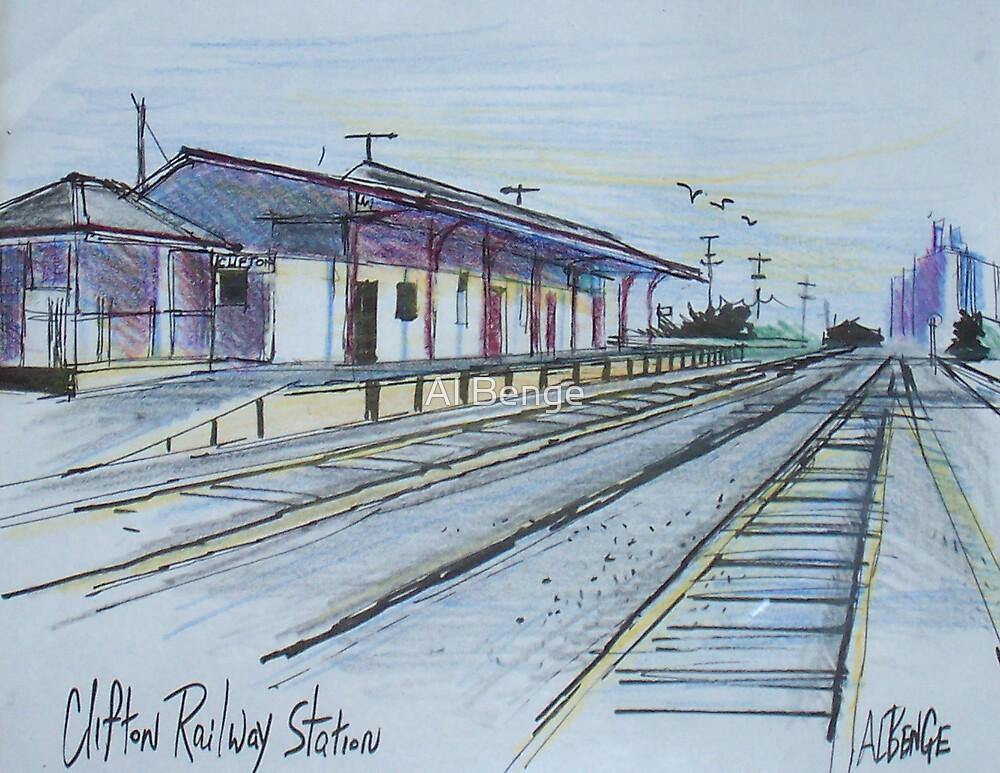 Railway Station, Clifton, Queensland Australia by Al Benge