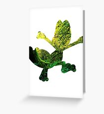 Treecko used Grass Knot Greeting Card
