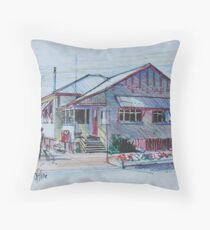Country Post Office, Clifton, Queensland Australia Throw Pillow