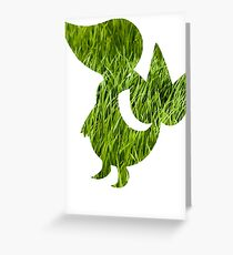 Snivy used Vine Whip Greeting Card