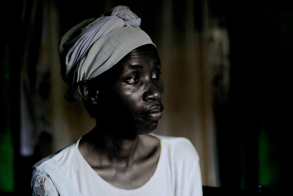 rwandan woman by Melinda Kerr