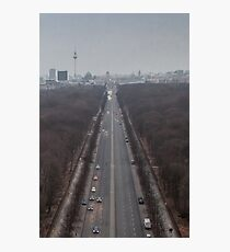 Heading for Brandenburg Gate Photographic Print