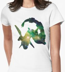 Rayquaza used Dragon Pulse Women's Fitted T-Shirt