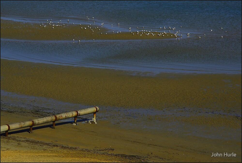 Low Tide, Mentone by John Hurle