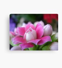 """""""Courage""""  Fight Against Breast Cancer Canvas Print"""