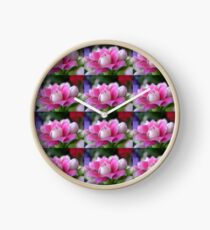 """""""Courage""""  Fight Against Breast Cancer Clock"""