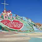 Salvation Mountain  by Cody  VanDyke