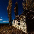 Shack Art/Lone Pine Oregon by Richard Bozarth