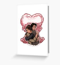 Love in Space Greeting Card