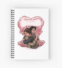 Love in Space Spiral Notebook