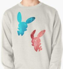 Plusle and Minun used Spark Pullover