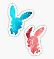 Plusle and Minun used Spark Sticker