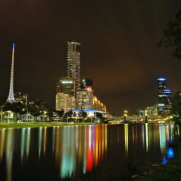 Yarra at night by whysee