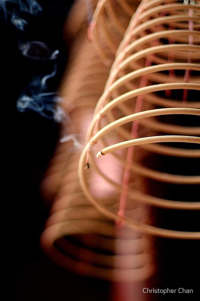 Joss Sticks by Christopher Chan