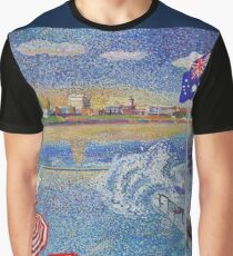 Bondi Icebergs painting  (clothing edition) Graphic T-Shirt