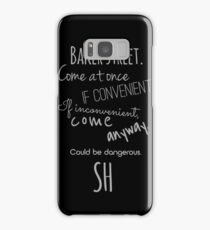 Sherlock (Come Anyway) Samsung Galaxy Case/Skin