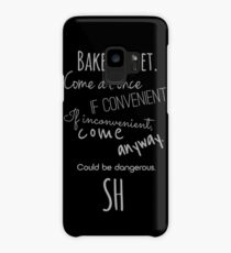 Sherlock (Come Anyway) Case/Skin for Samsung Galaxy