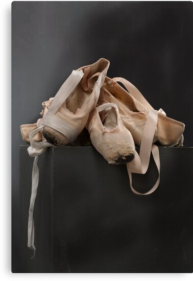 Old ballet booties.. by Lawrence Winder