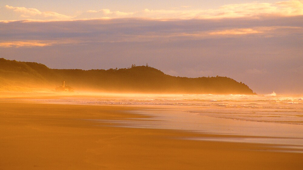 Rainbow beach by matthew maguire