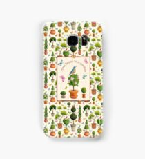 Time Began in a Garden Samsung Galaxy Case/Skin