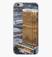Aerial view of Trump International Hotel Las Vegas, Nevada, USA iPhone Case