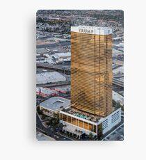 Aerial view of Trump International Hotel Las Vegas, Nevada, USA Metal Print