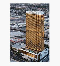 Aerial view of Trump International Hotel Las Vegas, Nevada, USA Photographic Print