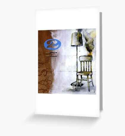 quiet inferno Greeting Card